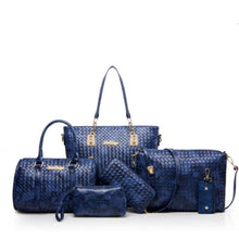 Load image into Gallery viewer, French six-piece set of bags - onekfashion