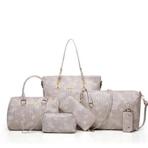 French six-piece set of bags - onekfashion