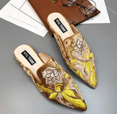 Embroidery shoes - onekfashion