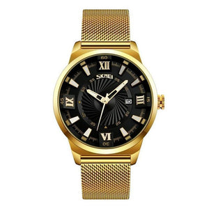Golden High-End Men's Watch - onekfashion