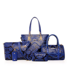 Load image into Gallery viewer, British retro classic six-piece set of lady bags - onekfashion