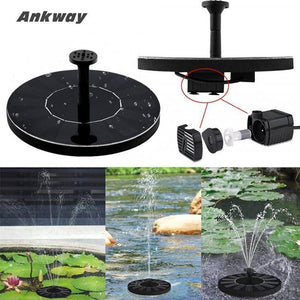 Antway鈩 Solar Powered Water Fountain