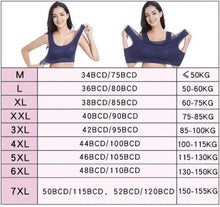Load image into Gallery viewer, Plus Size Breathable Sports Bra