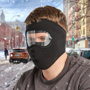 Facial Protection Anti-Fog, Dust-Proof Full Face Protection Headgear