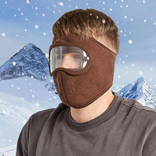 Load image into Gallery viewer, Facial Protection Anti-Fog, Dust-Proof Full Face Protection Headgear