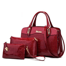 Load image into Gallery viewer, 2020 classic trend crocodile pattern luxury handbags