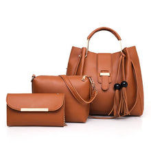 Load image into Gallery viewer, 馃敟馃敟2020-hot selling classic trend luxury Three-piece handbags