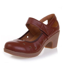 Load image into Gallery viewer, Ladies genuine leather shoes - onekfashion