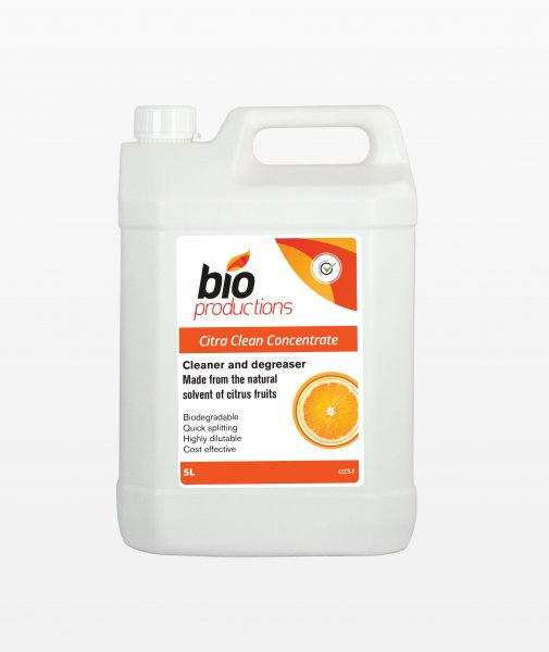 Bio Productions Citra Clean Concentrate CC5 5 Ltr - Premium All Purpose Cleaner Degreaser