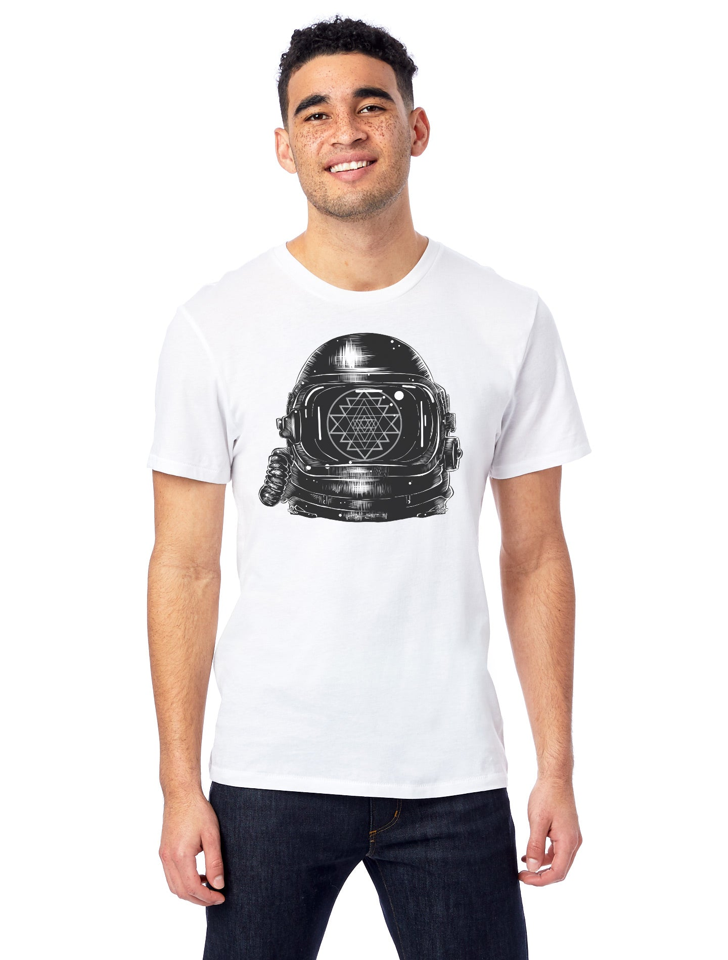 Men's Astronaut - 100% Organic Cotton