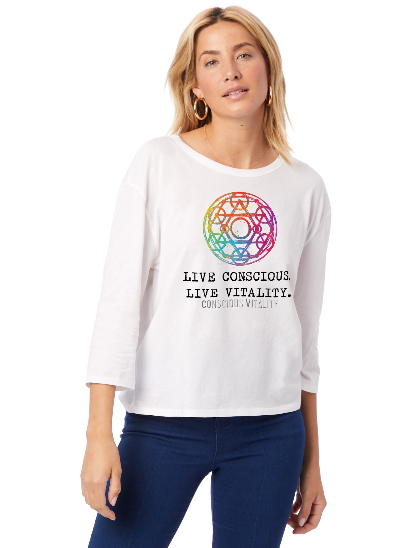 Women's Yantra - Color - 100% Organic Cotton