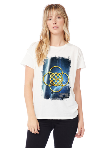 Women's ShaKa: Grounding Planets - 100% Organic Cotton