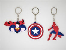 Load image into Gallery viewer, Super Hero Keyring