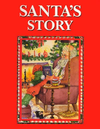 Personalised Story Book Santa's Story