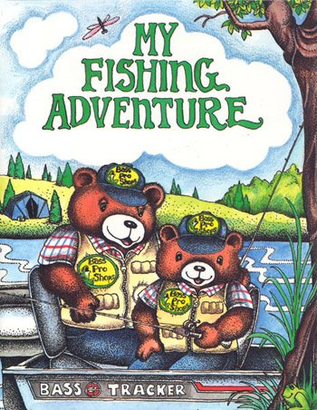 Personalised Story Book  -  My Fishing Aventure