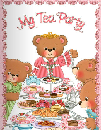 Personalised Story Book:  - MY Tea Party