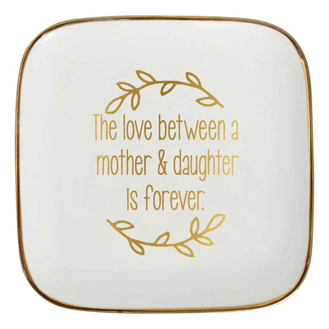 Trinket plate Mother & daughther