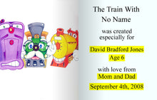 Load image into Gallery viewer, Personalised Story Book -- The Train with no Name