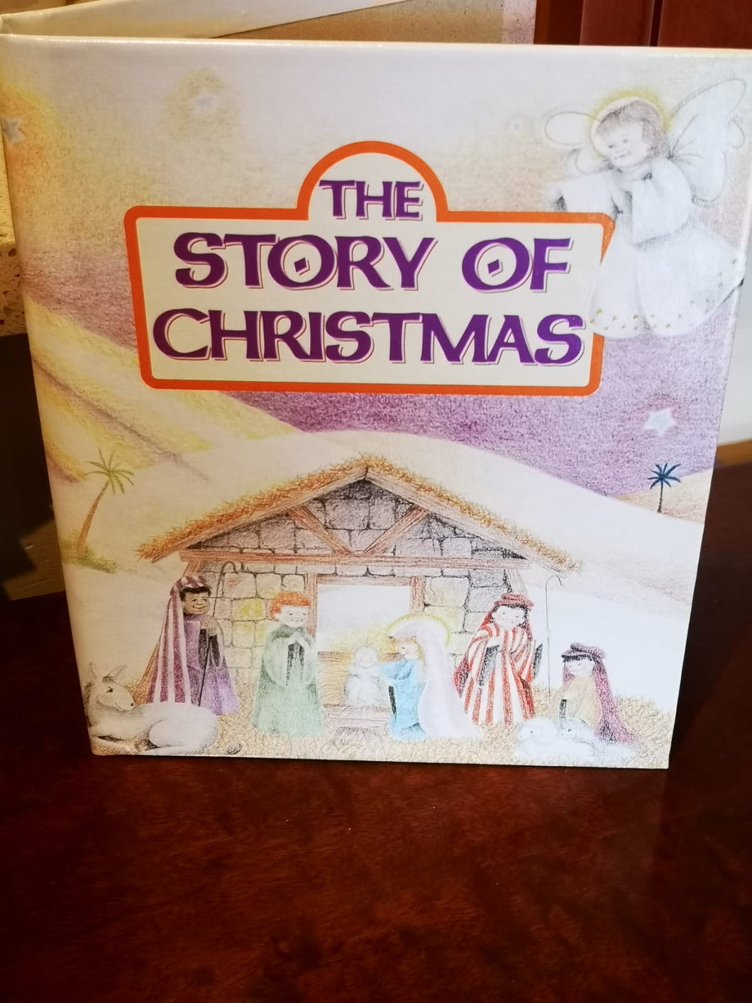 Personalised story Book  -  The Story of Christmas