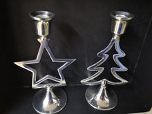 Load image into Gallery viewer, Candle Holder Star & Tree