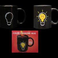 Load image into Gallery viewer, Colour changing  light bulb Mug