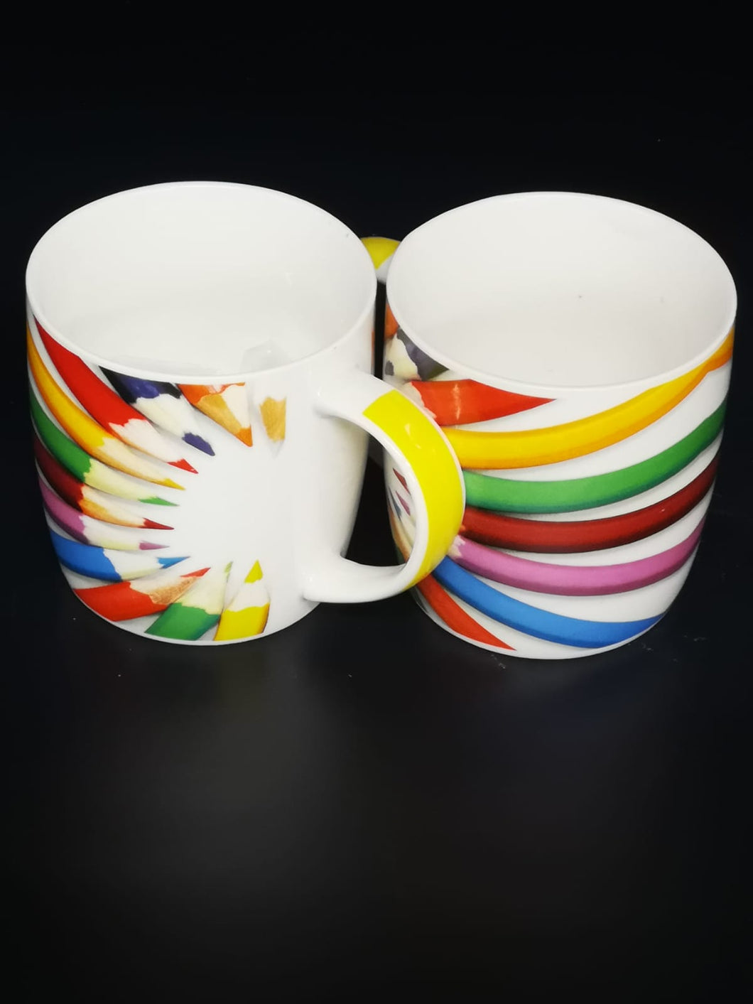 Mug with Pencil design