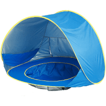 Load image into Gallery viewer, Ultimate Baby Beach Tent with Wadding Pool -