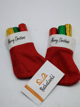 Load image into Gallery viewer, Mini Xmas Stocking & Crayons