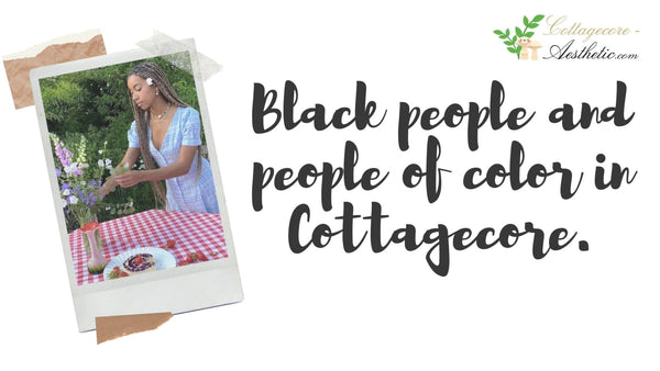 Cottagecore outfits for black people and POC ?