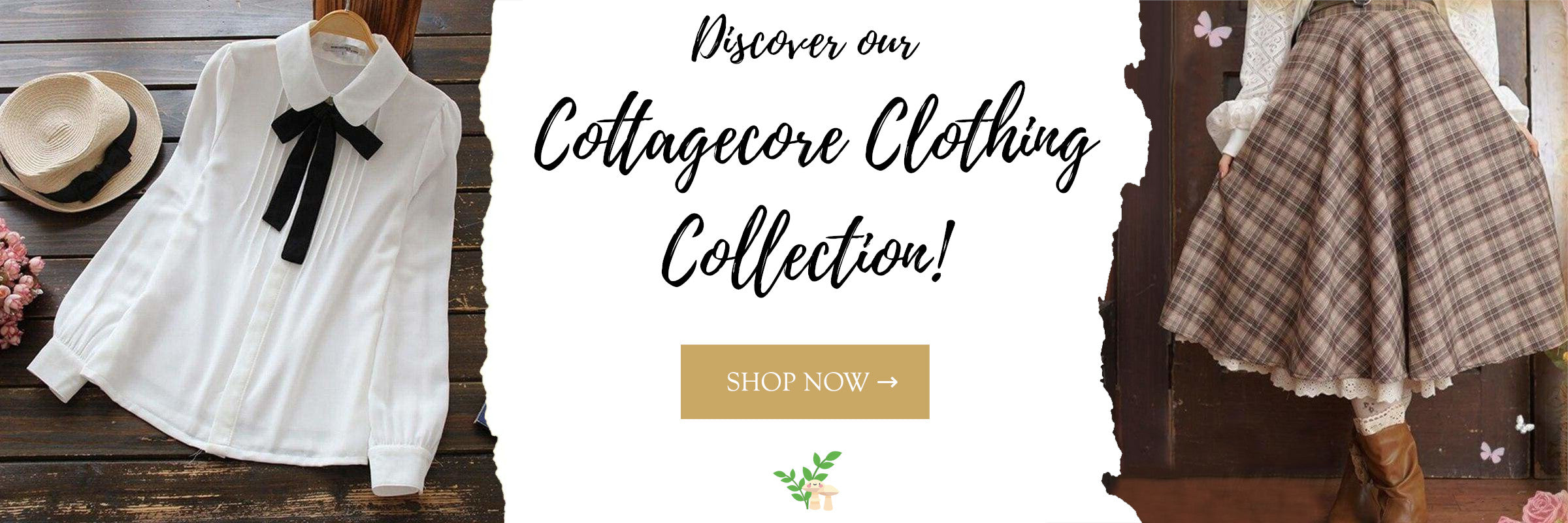 cottagecore clothing collection