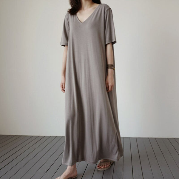 Loose Fitting Cottagecore Dress - Tasha