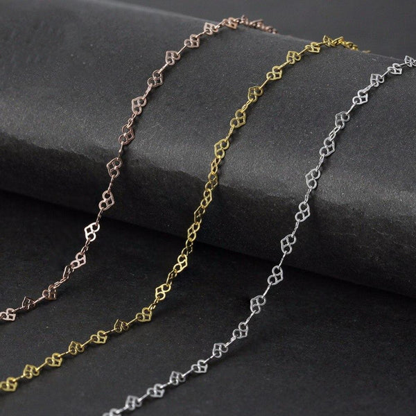 Gold Cottagecore Chain Necklace - Mai