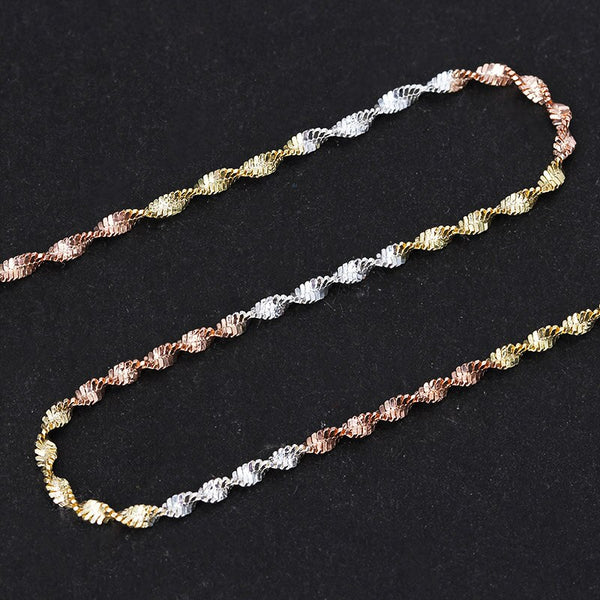 Gold Cottagecore Chain Necklace - Chiyo