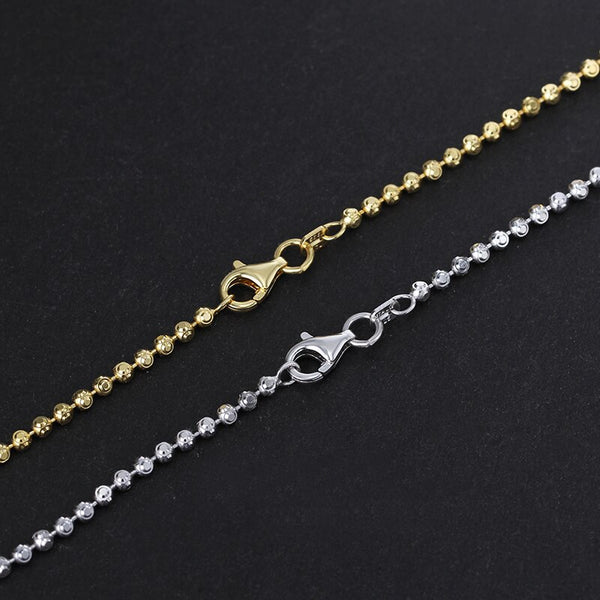 Round Cottagecore Chain Necklace - Jeny