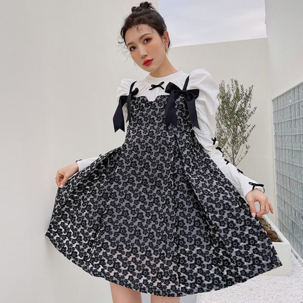 Autumn Cottagecore Dress - Riina