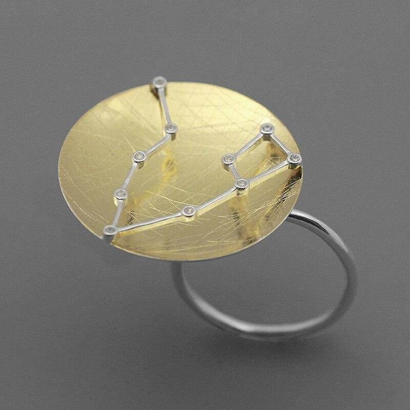 Astrological Cottagecore Ring - Tracy