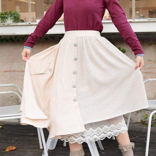 Autumn Cottagecore Skirt - Niina