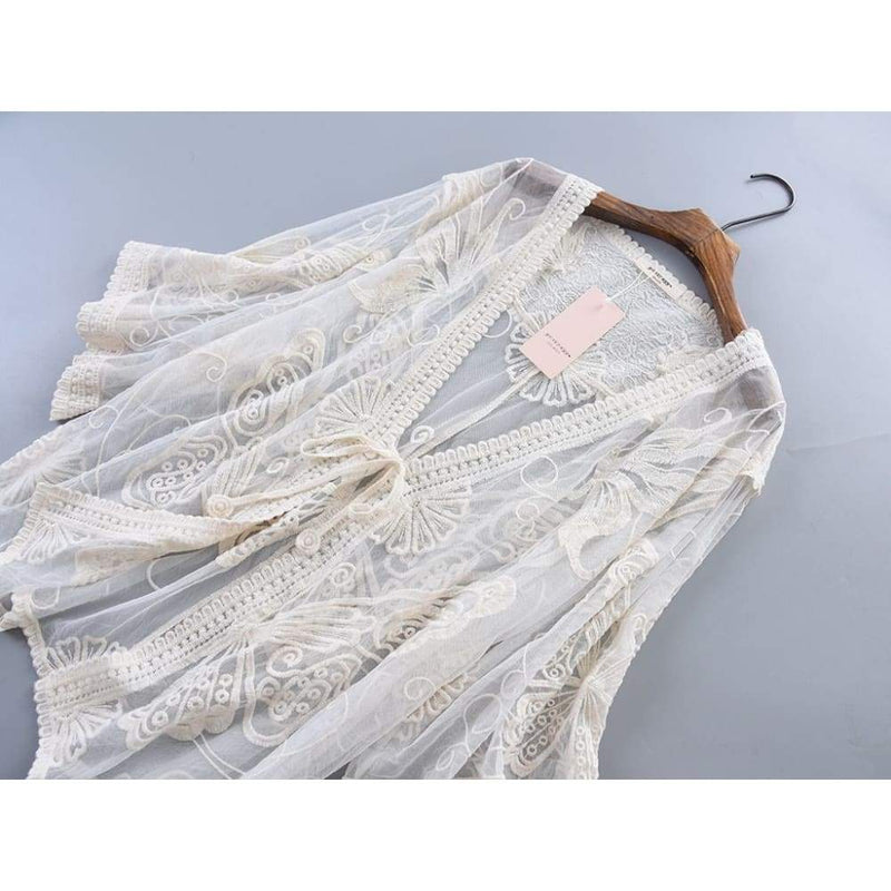 Beige Cottagecore Shirt - Idaka