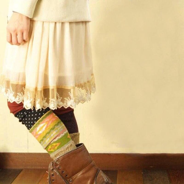Beige Cottagecore Skirt - Mare
