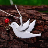 Bird Cottagecore Pendant - Mikako