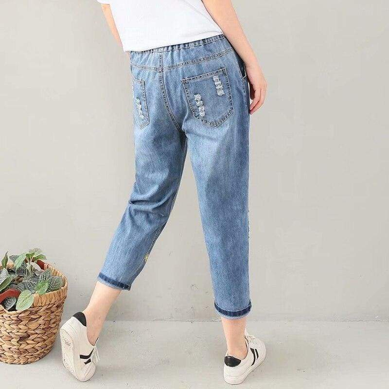 Blue Cottagecore Pants - Valentina