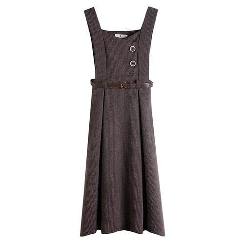 Brown Cottagecore Dress - Audrey