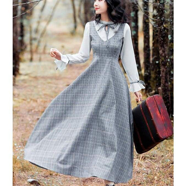 Cottagecore Dress Fall - Ito