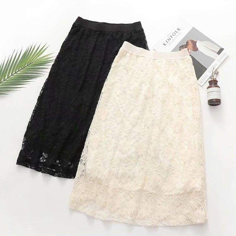Cottagecore Lace Skirt - Maria