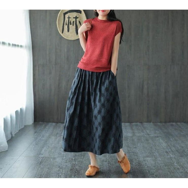 Cottagecore Skirt Summer - Idaka