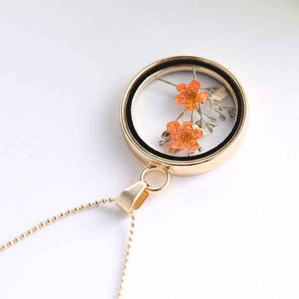 Floral Cottagecore Necklace - Valentina