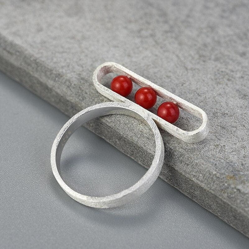 Geometric Cottagecore Ring - Svetlana