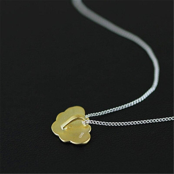 Gold Cloud Cottagecore Pendant - Faith