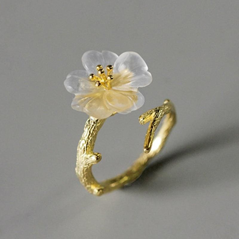 Gold Cottagecore Ring - Chelsey