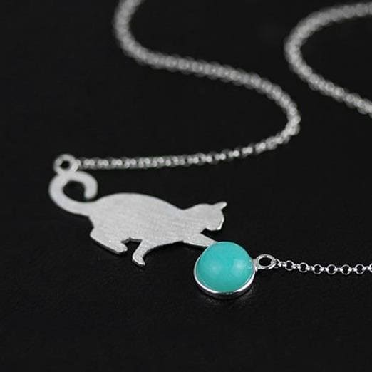 Kitty Cottagecore Necklace - Hanako